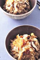 炒り大豆切干ご飯